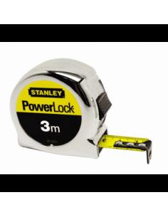 FLEXOMETRO STANLEY POWERLOCK 3 m