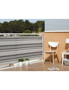MALLA BALCONY QUALITY 0,9 X 3 GRIS-MARRON