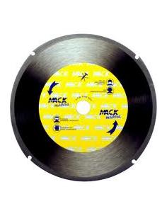 DISCO MADERAS BLANDAS Y PLASTICOS MACODIAM 230 X 2,0 X 22,23