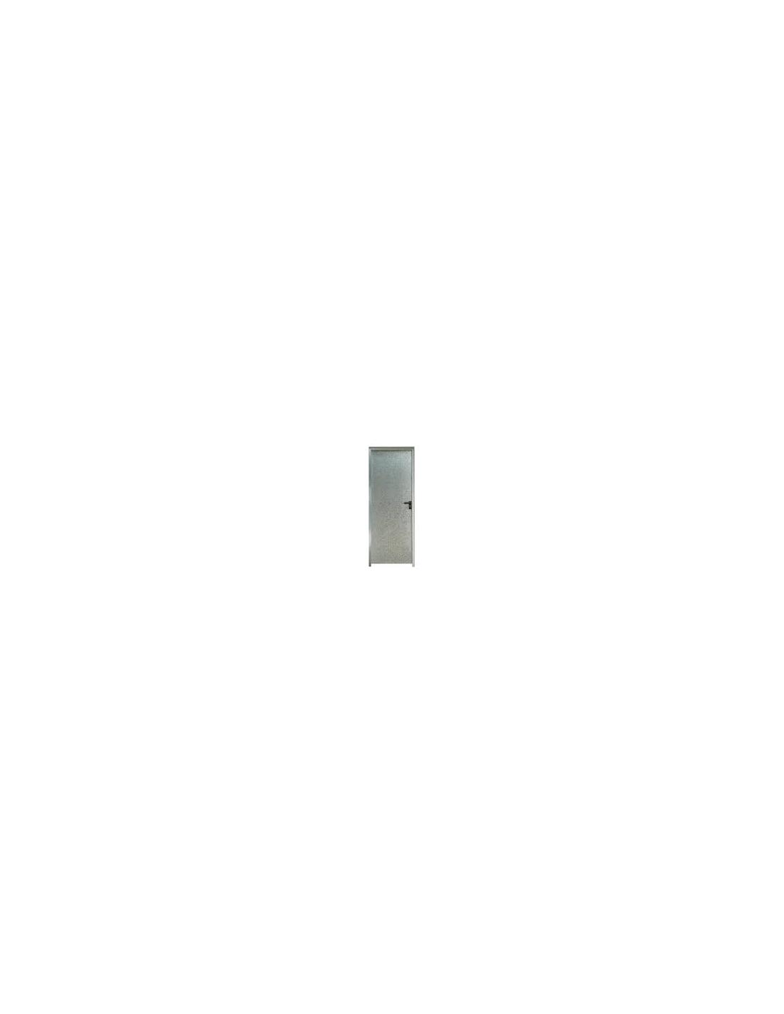 Puerta chapa galvanizada 80 x 2 m marco de 90 mm ciega - Puerta chapa galvanizada ...