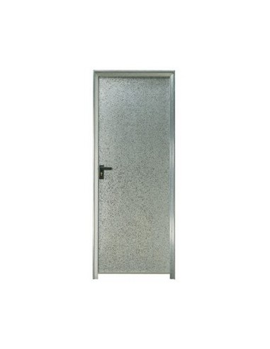 puerta chapa galvanizada 90 x 2 m marco de 90 mm ciega