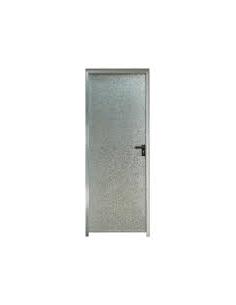 Puerta chapa galvanizada 100 x 2 m ciega marco de 90 mm for Puertas de chapa galvanizada