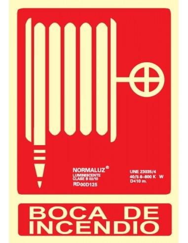 SEÑAL C. I. MANGUERA 21 X 30