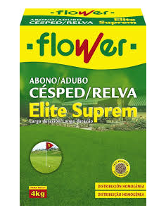 ABONO CESPED ELITE SUPREM 4 KG FLOWER