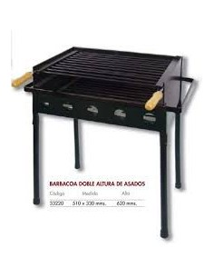 BARBACOA DOBLE ALTURA 510 X 330 X 620 mm