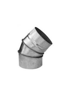CODO CHAPA GALVANIZADA 200 X 45º
