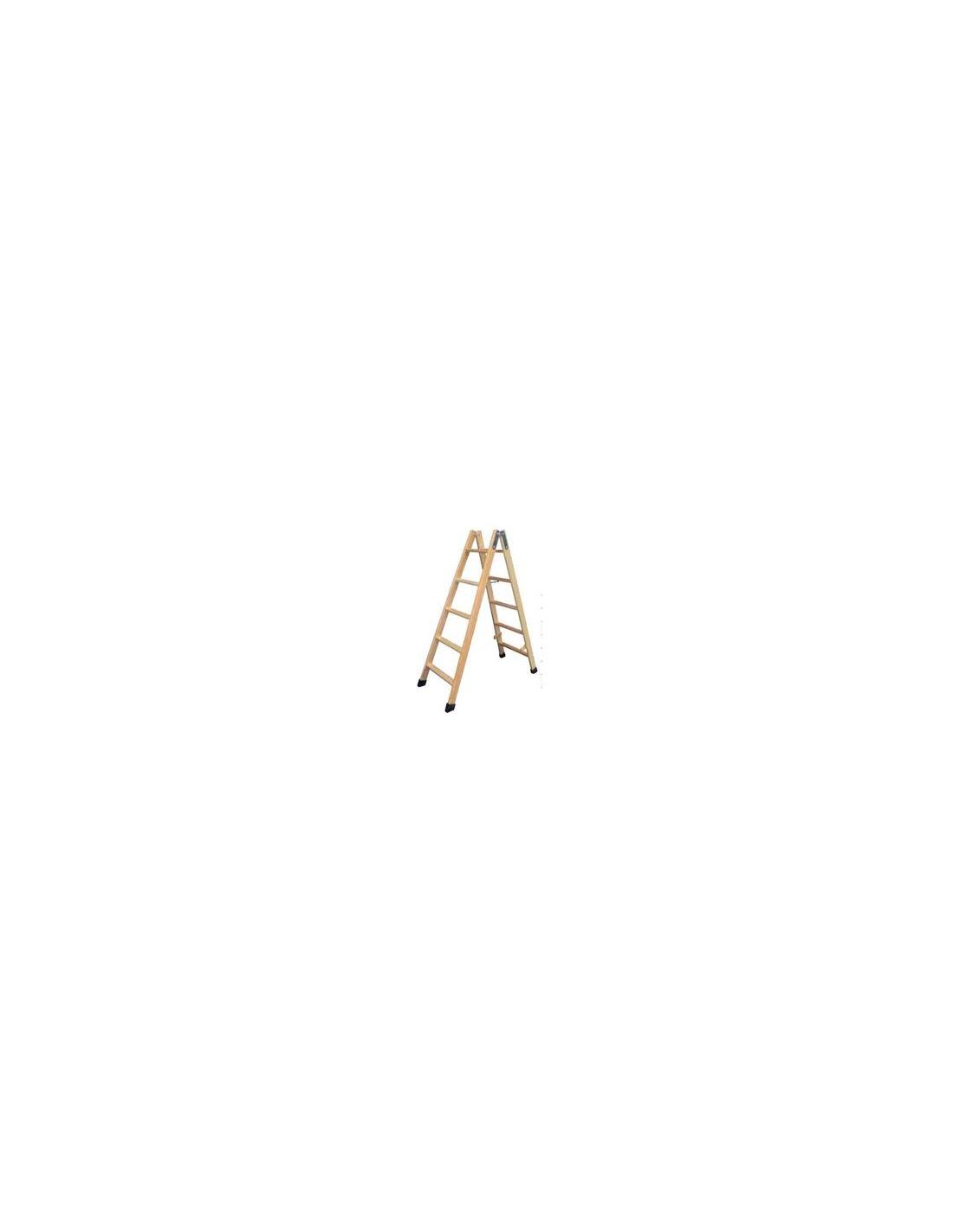 Escalera de madera 5 pela os homologada - Peldanos escalera madera ...