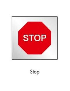 SEÑAL BOLSA PLASTICO DE STOP