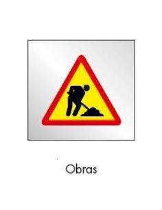 SEÑAL BOLSA PLASTICO DE OBRAS