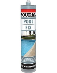 SOUDAL POOL-FIX ESPECIAL PISCINAS TRANSLUCIDA (CARTUCHO 290 ml)