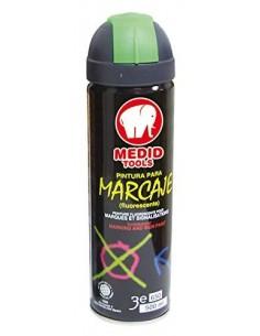 SPRAY MARCADOR MEDID TAPON VERDE 500 ml