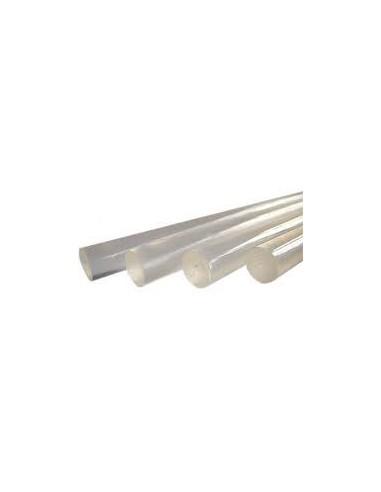 SILICONA EN BARRA TRANSPARENTE 12 mm