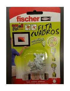 FIJACUADROS BLANCO FISCHER (BLISTER)