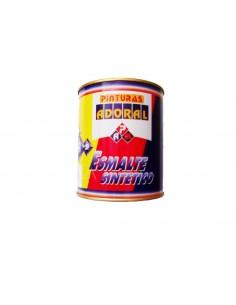 PINTURA ADORAL ESMALTE NEGRO MATE 750 cc