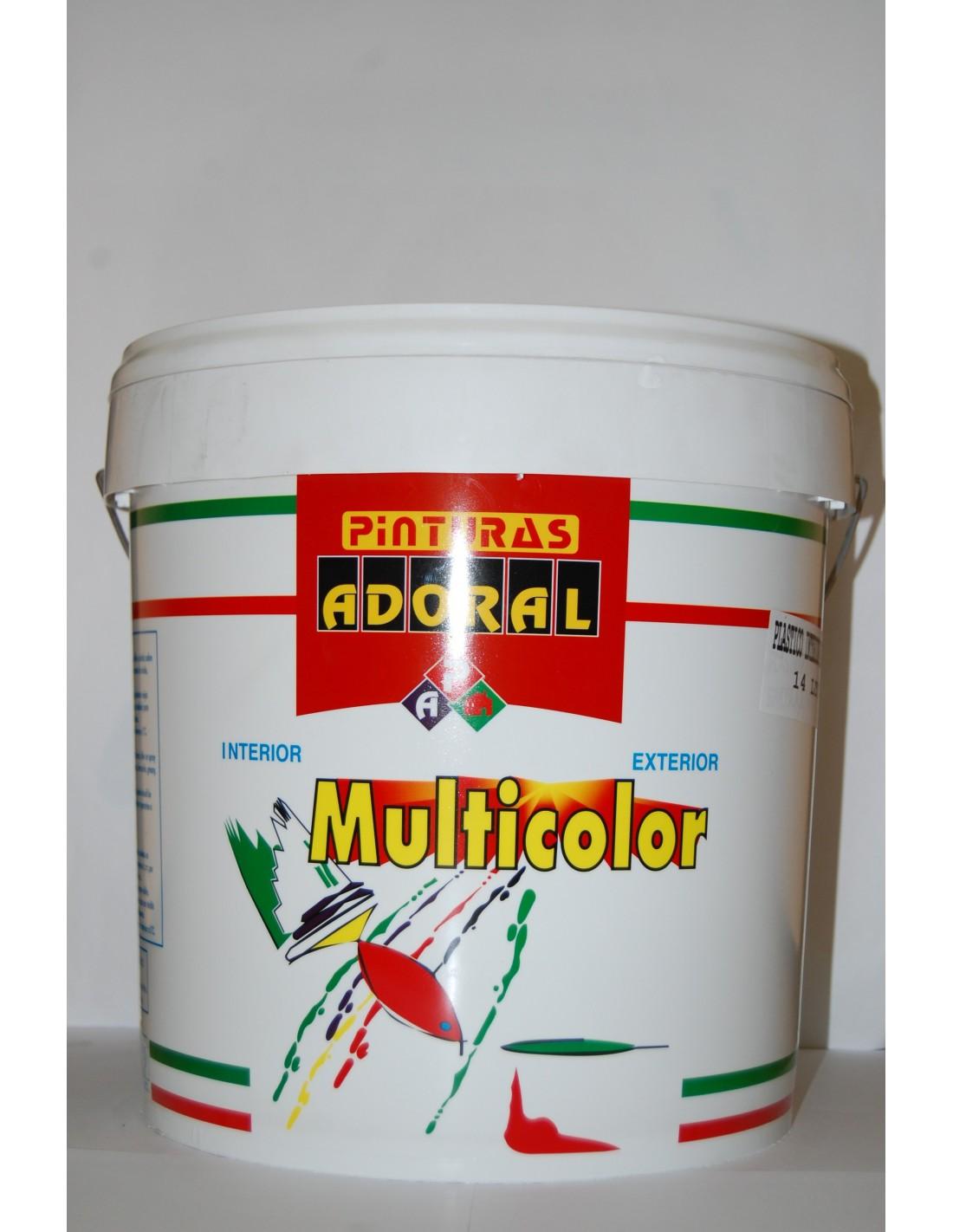 Pintura plastica blanca mate 14 l multicolor - Pintura plastica blanca ...