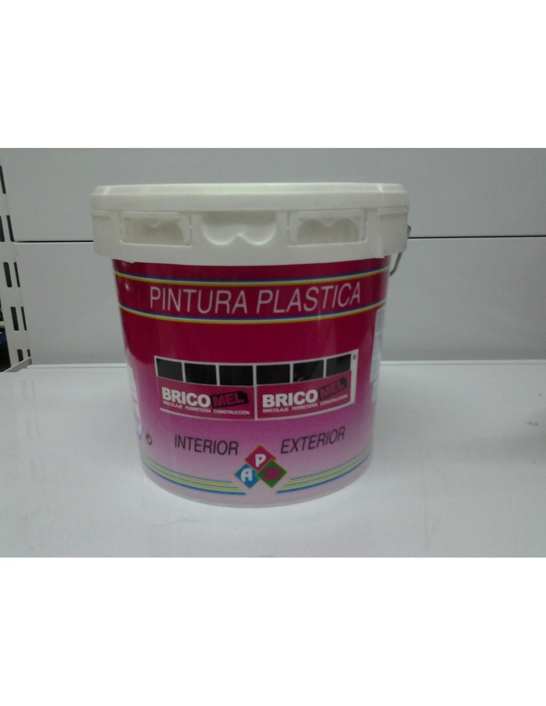 Pintura plastica satinada universal 4 l bricomel - Pintura plastica satinada ...